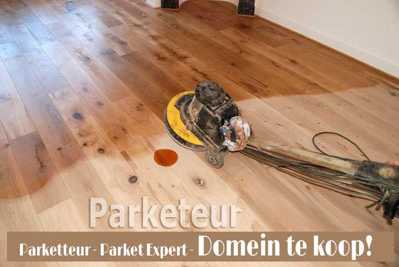Parket expert parketeur vloeren stofvrij schuren renovatie parket